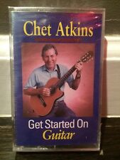 Chet Atkins Get Started On Guitar Cassette New And Sealed