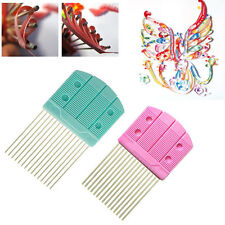 New Paper Quilling Comb Tool Paper Craft Tool Creat Loops Accessory Supply DIY