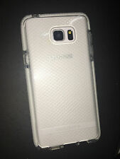 New Authentic Tech21  Clear + White Evo Check Case for Samsung Galaxy Note 5