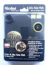 ROLLEI 0.28X FISHEYE LENS FOR APPLE IPHONE 4/4S GREEN