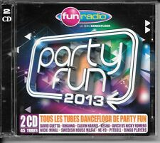 2 CD COMPIL 45 TITRES--PARTY FUN 2013--GUETTA/RIHANNA/KESHA/AVICII/PITBULL/NE-YO