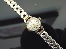 Ladies Vintage 1960's Omega 9ct Hallmarked Gold Bracelet Watch. Cal 650.