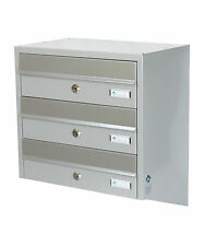 Multiple Postbox 5x Multi Occupancy Indoors or Outdoors Mailboxes Letter box