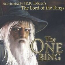 THE ONE RING - Cd NEW - Free Shipping - Music Inspired By J.r.r. Tolkien's - 82L