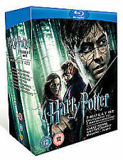 Harry Potter - Films 1-7 Box Set [Blu-ray] [Region Free], Very Good Condition DV