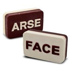 Arse Face Bar to wash in the shower joke Birthday gift / office secret Santa