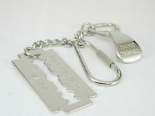 2192 Rare Collectors Item Made in Italy Pauric Sweeny Stainless Steel Key Holder