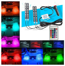 Full Color LED Glow Lights Interior Under Dash Footwell Kit for Ford F-150 F250