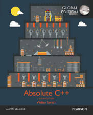 Absolute C++, Global Edition by Walter J. Savitch, Kenrick Mock (Mixed media pro