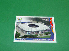 5 HAMBURG STADION PANINI FOOTBALL GERMANY 2006 COUPE MONDE WM FIFA WORLD CUP