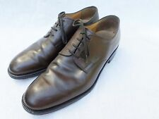 TODS authentic brown leather oxfords brogues wingtips dress shoes 10.5