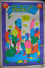 WHO CUT THE CHEESE?  Poster, 1974