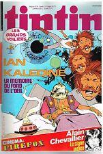B18- Tintin N°376 Ian Kalédine,Cinema:Firefox,Alain Chevalier