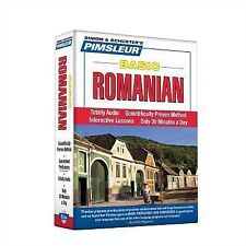 Basic Ser.: Romanian : Learn to Speak and Understand Romanian with Pimsleur...