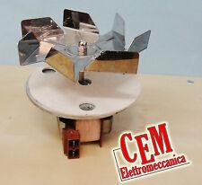 Motore ventilatore per forno ventilato - 220 V monofase perno 28 mm con ventola