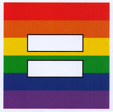 Rainbow Equal Sign - Magnetic Small Marriage Equality Bumper Sticker Magnet