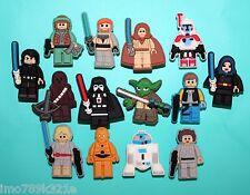 Star Wars Cake Toppers 14 Cupcake Decorations Party Favours Luke Hans Solo NEW