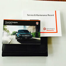 Vauxhall Insignia E Tourer SERVICE BOOK MANUALE & WALLET PACK 2014 su LIFTING