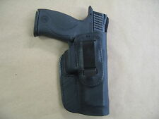 Smith & Wesson S&W M&P 9mm, 40 IWB Leather In Waistband Concealed Carry Holster
