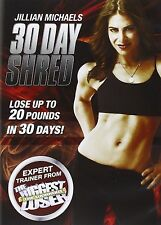 JILLIAN MICHAELS 30 DAY SHRED Fitness Workout Lost 20 Pounds Lose Weight Jilian