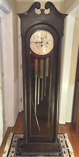 Vintage Colonial #1353 Grandfather Clock 5 Tube Running? Striking? Chiming?