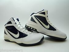 NIKE AIR MAX DESTINY WHITE NAVY 454148 104 NEW WITH DEFECTS MEN SHOES SIZE 11.5