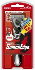 """""""SAMURAI Edge"""" Feather Safety Razor F-System Holder Made in JAPAN"""