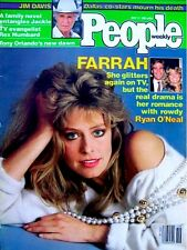 Farrah Fawcett Magazine People Weekly 1981 VTG Cover Only Pinup Cahrlie's Angels