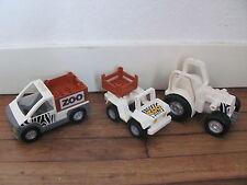 LEGO DUPLO @@ Lot de Véhicules de ZOO @@ Zoo Car Jeep Tractor @@ TBE