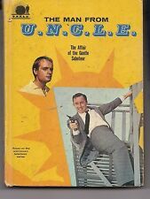 THE MAN FROM U.N.C.L.E.~ Affair of the Gentle Saboteur~1966~ Whitman Books #1541