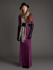 Alice By Temperley Purple Long Raquel Dress Size UK 8 RRP £ 285
