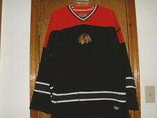 Official NHL Blackhawks Fleece Pullover Jersey by G-III Large-XL ?