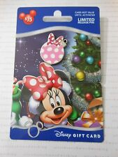 2013 Disney Christmas MINNIE MOUSE ORNAMENT PIN Happy Holidays Gift Card GWP Pin