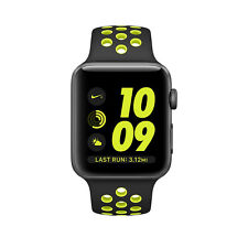 Apple Watch Series 2 Nike+ 42mm Space Gray Aluminum Case Black/Volt Sport Band