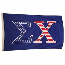 Sigma Chi USA Letter Flag 3' x 5'