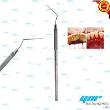 YNR® Single Ended Probe Explorer Tartar Plaque Remover Dental Diagnostic Lab New
