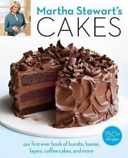 Martha Stewart's Cakes: Our First-Ever Book of Bundts, Loaves, Layers, Coffee C