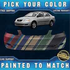 NEW Painted to Match - Front Bumper Cover Replacement 2005-2008 Toyota Corolla