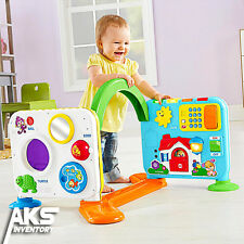 Fisher Price Laugh Learn Crawl Around Learning Center Teach Baby Toddler New Toy