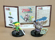 The Legend of Zelda Spirit Tracks limited edition Link & Phantom mini Figure
