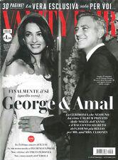 VANITY FAIR 39-2014 GEORGE CLOONEY AMAL Matrimonio Sposi