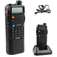 BAOFENG UV-5R Battery 3800mAh + UV 5R Walkie Talkie Dual Band Ham Radio UHF/VHF