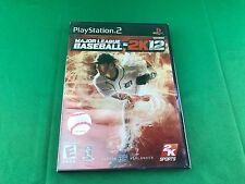SEALED NEW Major League Baseball 2K12 for Sony PlayStation 2