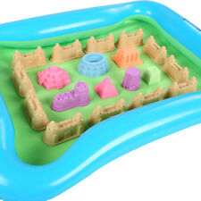 New Inflatable Kids Outdoor Backyard Sandbox Activity Creative Play Sand Box