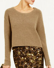 "$148 BCBG HEATHER BAY LEAF ""IDA"" CROPPED SWEATER TOP NWT XS"