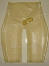 100% Latex Rubber Gummi 0.45mm Shorts Pants Catsuit Suit Tailor-Made Trousers