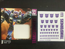 Ocean Hasbro TF Decepticon Logo decals(White background)