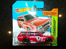 Hot wheels HW WORKSHOP 71 Datsun Bluebird 510 Wagon 206/250 red Short card #8