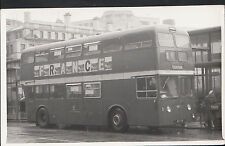 Postcard Size Transport Photograph - Vintage Bus - Flixton  MB869
