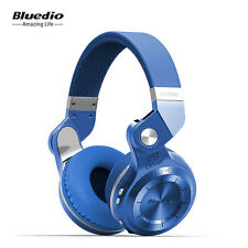 NEW Genuine BLUEDIO T2S Wireless Bluetooth 4.1 Stereo Headphones Headsets (Blue)